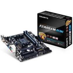 Gigabyte F2A88XM-D3H DDR3 2133MHz S+V+GL+16X FM2
