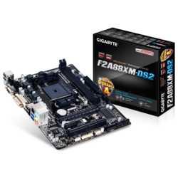 Gigabyte F2A88XM-DS2 DDR3 2133MHz S+V+GL+16X FM2+
