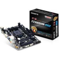 Gigabyte F2A68HM-DS2 DDR3 2133MHz S+V+GL+16X FM2+