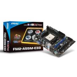 MSI A68HM-E33  DDR3 2133MHz S+V+GL+16X FM2+