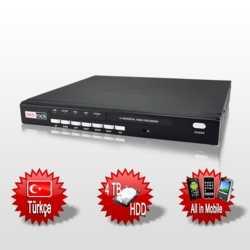 Redrock RR116P 16 Kanal 400 FPS Kayıt Cihazı