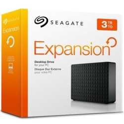 Seagate 3.5 3TB Exp USB3.0 Siyah STEB3000200