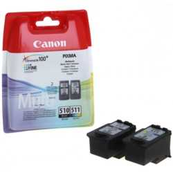 Canon PG510+CL511 Mürekkep Kartuş Set (510+511)