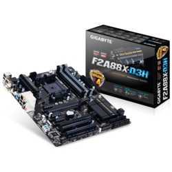Gigabyte F2A88X-D3H DDR3 2133MHz S+V+GL+16X FM2