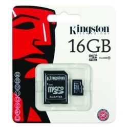 Kingston 16 GB Micro SDHC Kart Class 4