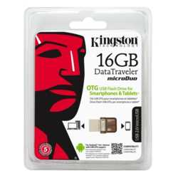 Kingston 16 GB USB2.0 DT MicroDuo DTDUO/16G