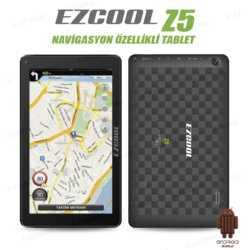 Ezcool Z5 1GB 8GB DualCam HDMI 9 GPS HD Siyah