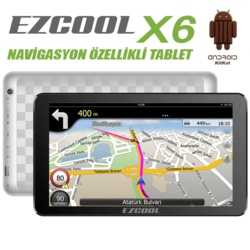 Ezcool X6 1GB 8GB Quad GPS BTH HDMI 10.1 HD