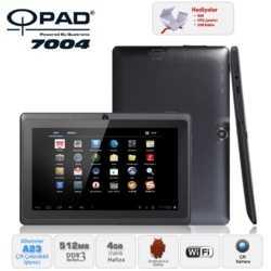 Qpad 7004 Alwinner A23 DualCore 512M 4GB 7 Siyah