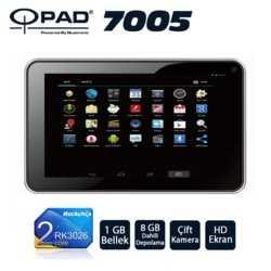 Qpad 7005 RK3026 DualCore 1GB 8GB 7 Siyah