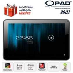 Qpad 9002 RK3168 DualCore 1GB 8GB 9 Siyah