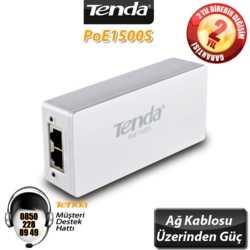 Tenda POE1500S 2 Port 10/100/1000 POE Enjektörü