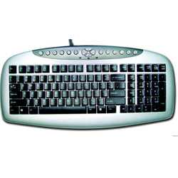 A4 Tech KB21  Klayve / Siyah / PS2