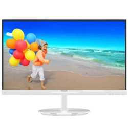Philips 21.5 224E5QSW-01 LED Monitör 5ms Beyaz