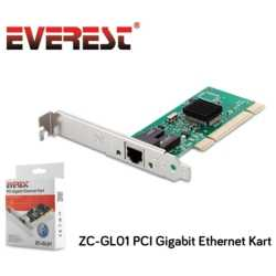 Everest ZC-GL01 10/1000 PCI Gigabit Ethernet Kart