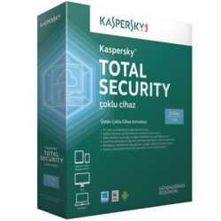 Kaspersky Total Sec. 2015 3 Kullanıcı DVD Kutu