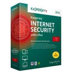 Kaspersky Int. Sec. 2015 4 Kullanıcı DVD Kutu